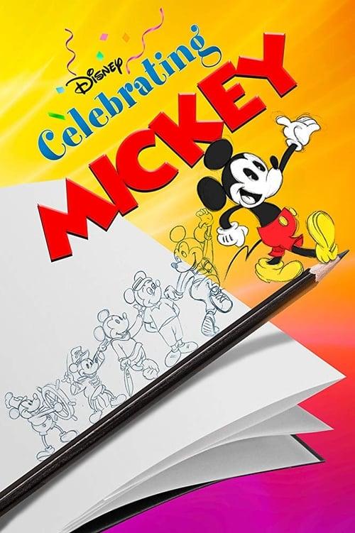 Celebrating Mickey poster