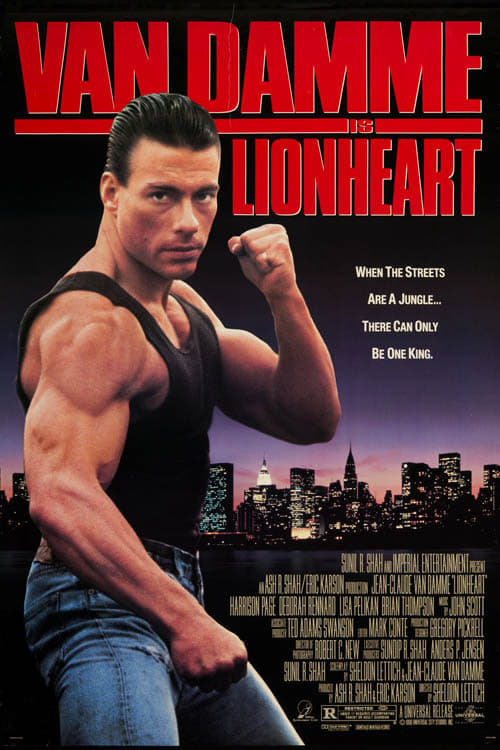Largescale poster for Lionheart