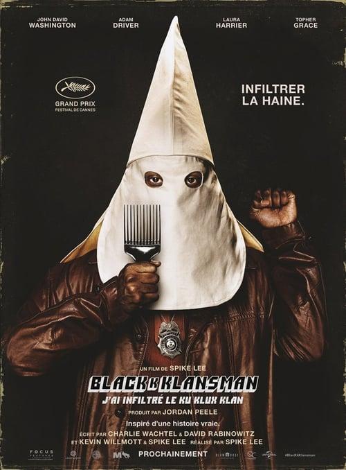 Voir  ↑ BlacKkKlansman – J'ai infiltré le Ku Klux Klan Film en Streaming Gratuit