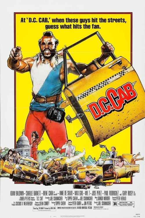 D.C. Cab (1983) Poster