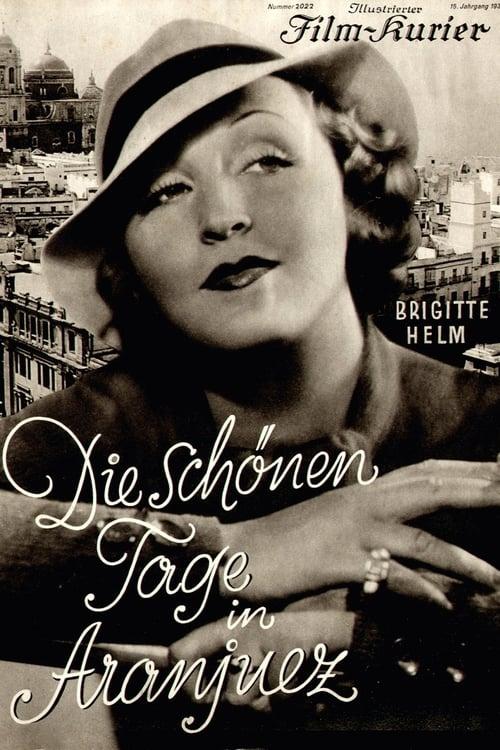 Die schönen Tage von Aranjuez (1933)
