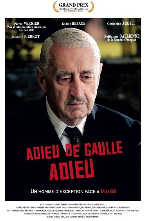 Adieu De Gaulle adieu poster