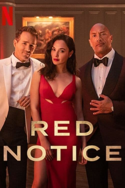Red Notice (2021) Poster