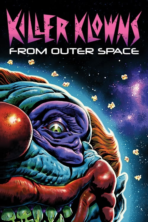 Poster. Killer Klowns from Outer Space