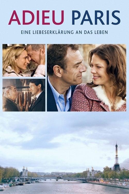 The poster of Adieu Paris