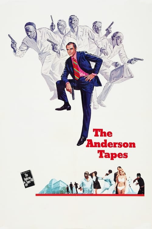Largescale poster for The Anderson Tapes