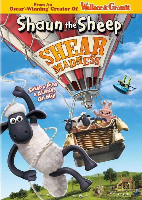 Largescale poster for Shaun The Sheep: Shear Madness