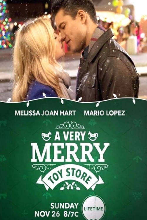 A Very Merry Toy Store poster