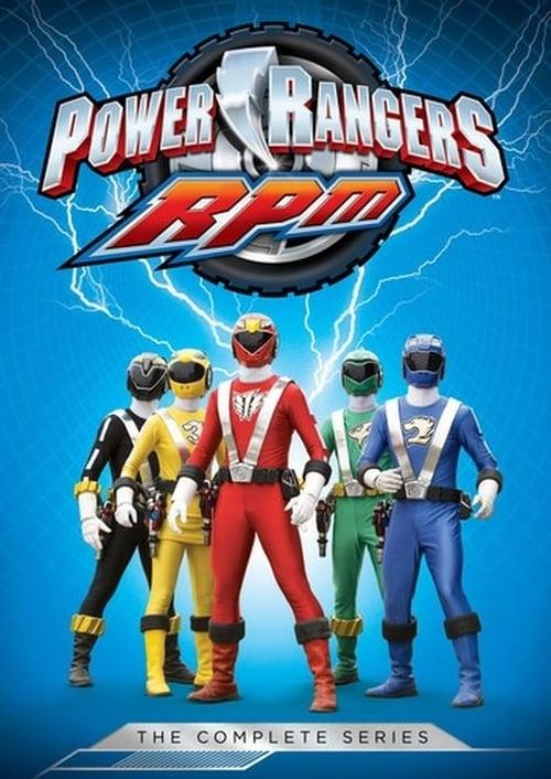 Watch Power Rangers RPM