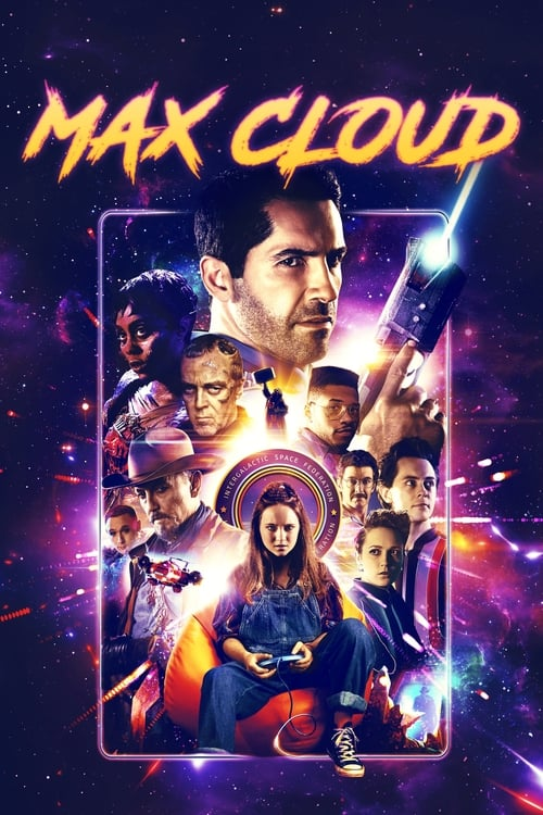 Poster. The Intergalactic Adventures of Max Cloud (2020)