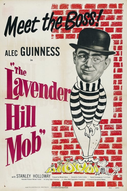Streaming The Lavender Hill Mob (1951) Movie Free Online