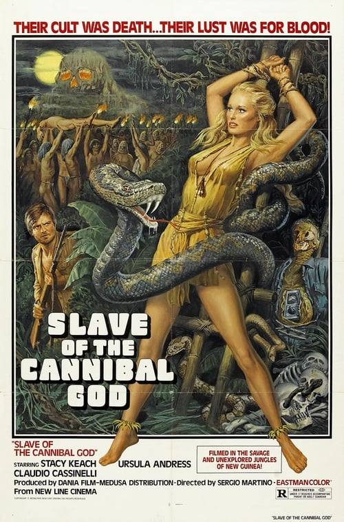 La montagna del dio cannibale poster