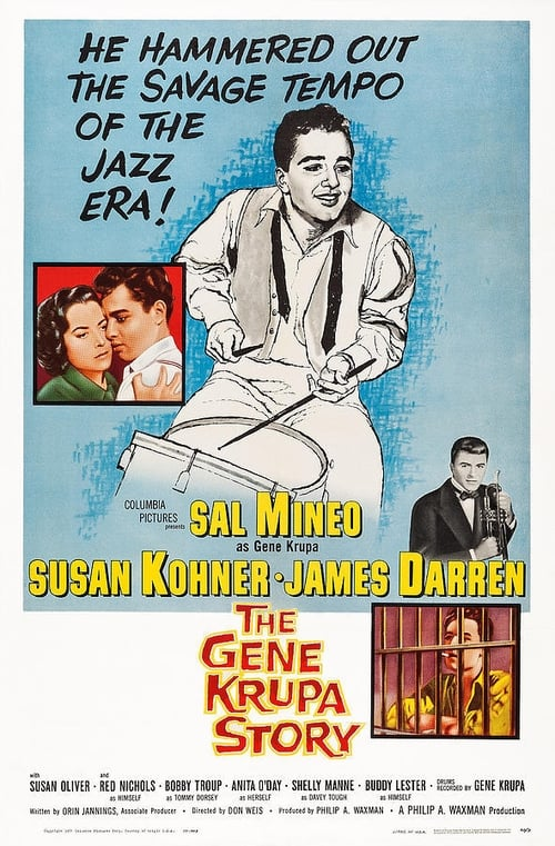 Largescale poster for The Gene Krupa Story