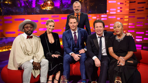 The Graham Norton Show: Season 20 – Episode Jennifer Lawrence, Chris Pratt, Jamie Oliver, Will.i.am, Emeli Sande