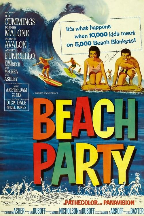 Sehen Sie Beach Party Mit Untertiteln Online An