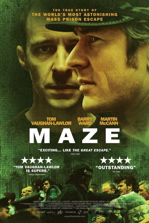The poster of Maze