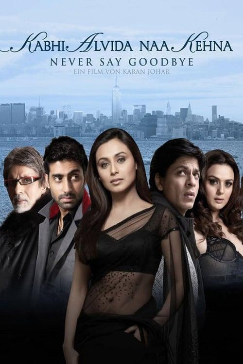 Poster von Kabhi Alvida Naa Kehna - Bis dass das Glück uns scheidet