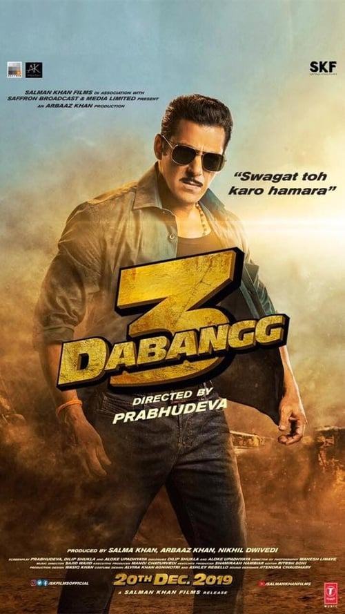 Dabangg 3 2020 Hindi ORG 480p HDRip 400MB With ESub
