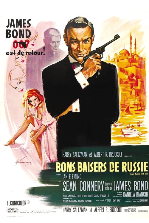 Regarder Bons baisers de Russie (1963) Streaming HD FR