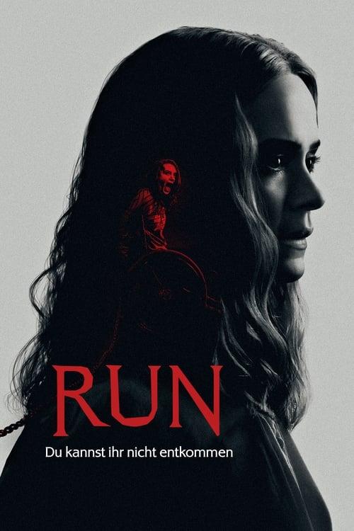 Poster von Run - Du kannst ihr nicht entkommen