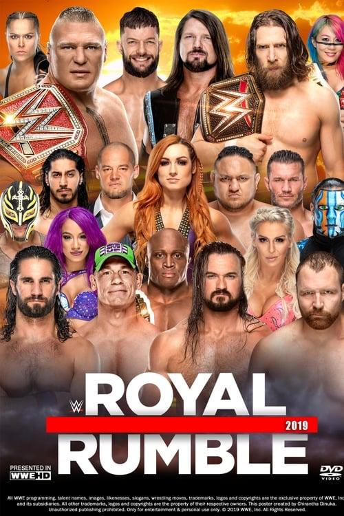 Assistir WWE Royal Rumble 2019 Grátis Em Português