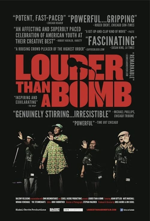 Louder Than a Bomb (2011) Poster