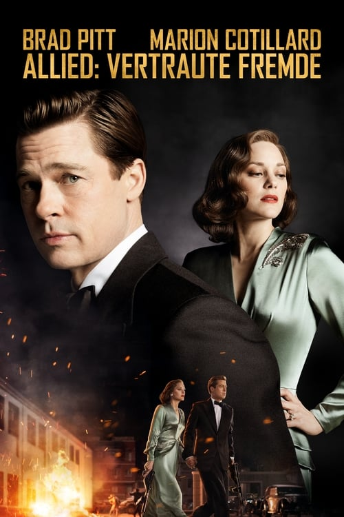 Allied: Vertraute Fremde - Poster