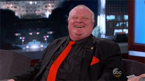 Jimmy Kimmel Live 2014 Streaming: Season 12 – Episode Rob Ford, Gonzo