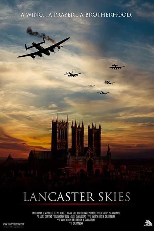 Lancaster Skies Poster
