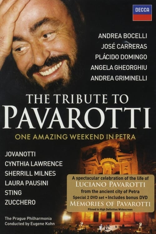 Largescale poster for The Tribute to Pavarotti One Amazing Weekend in Petra