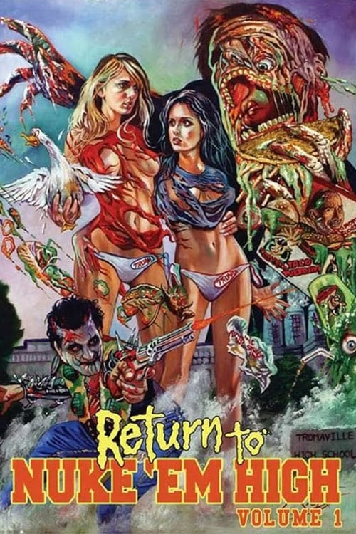 Largescale poster for Return to Nuke 'Em High Volume 1