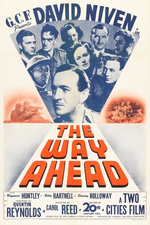The Way Ahead (1944) Poster
