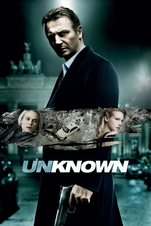 Poster for the movie, 'Unknown'