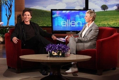 The Ellen Degeneres Show 2010 720p Webrip: Season 8 – Episode Rob Lowe