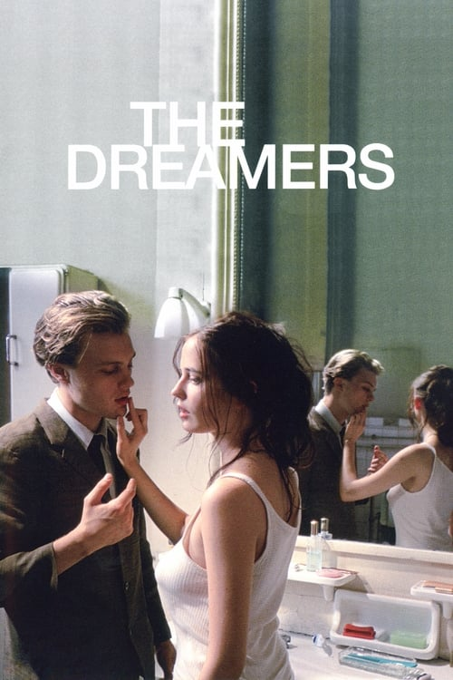 The poster of The Dreamers