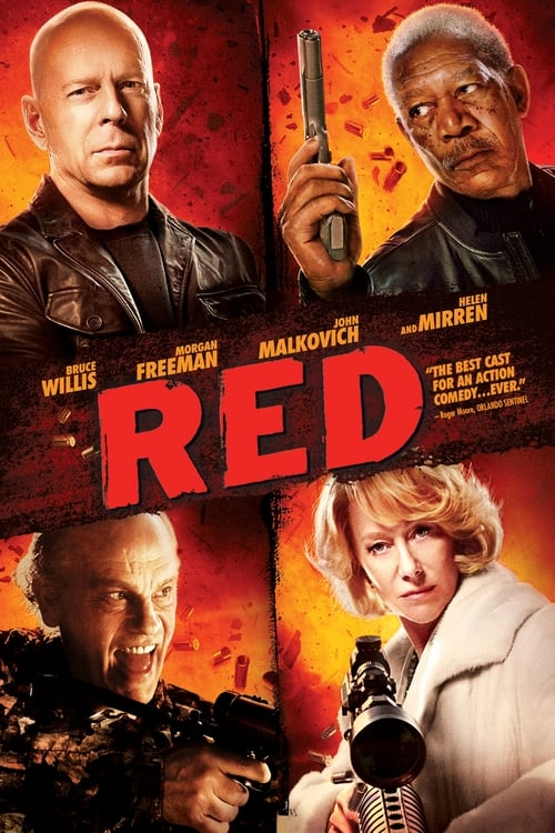 Poster for the movie, 'RED'