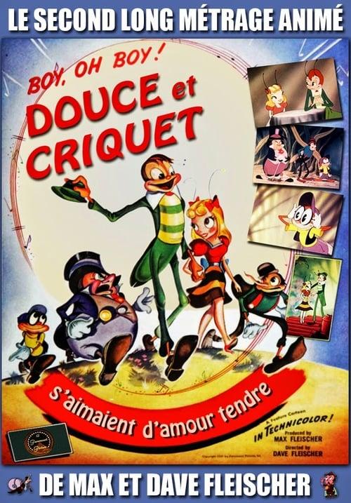 [720p] Douce et Criquet s'aimaient d'amour tendre (1941) film en français