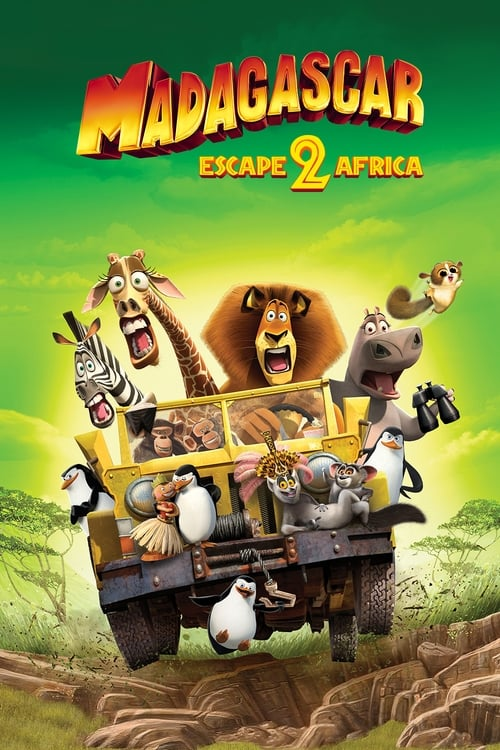 Madagascar: Escape 2 Africa - Poster