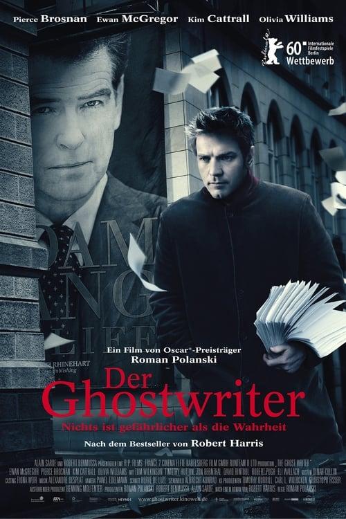 Poster von Der Ghostwriter