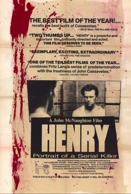 Streaming Henry: Portrait of a Serial Killer (1986) Movie Free Online