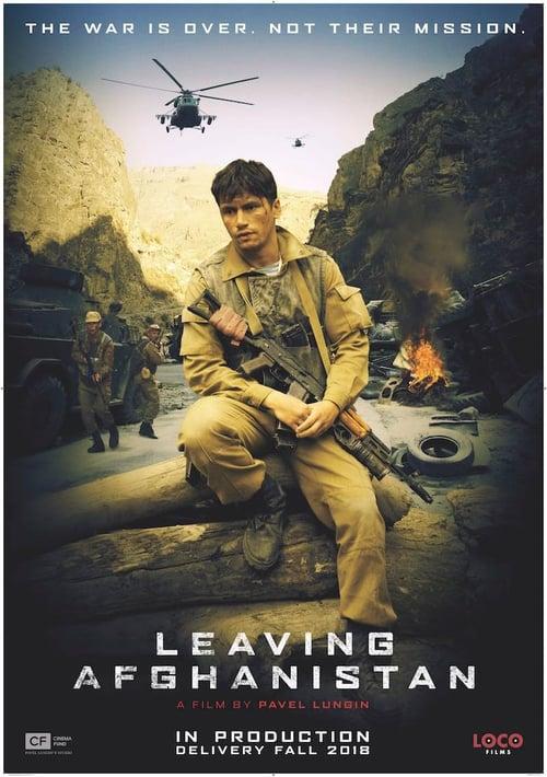 Leaving Afghanistan poster