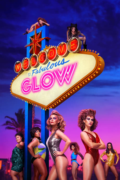 The poster of GLOW