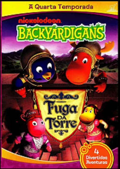 The Backyardigans - Escape from the Tower MEGA