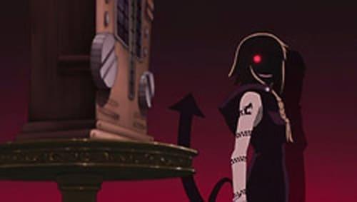 A ressonância contra o demônio. Lance com toda a raiva o caçador de demónios?