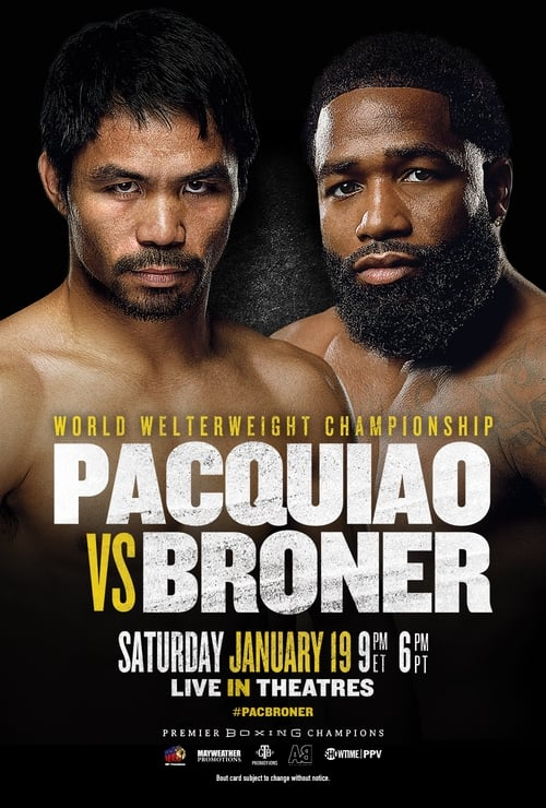 Pacquiao vs. Broner