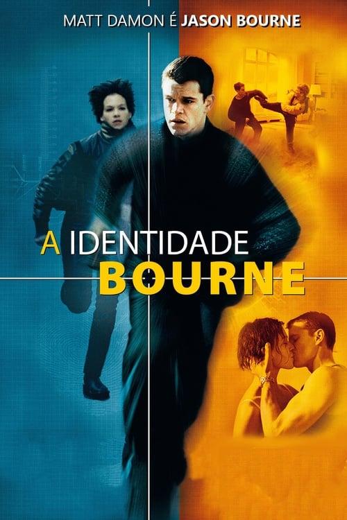 Assistir A Identidade Bourne (2002) – HD 1080p Dublado Online Grátis HD