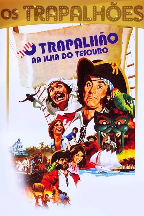 Largescale poster for O Trapalhão na Ilha do Tesouro