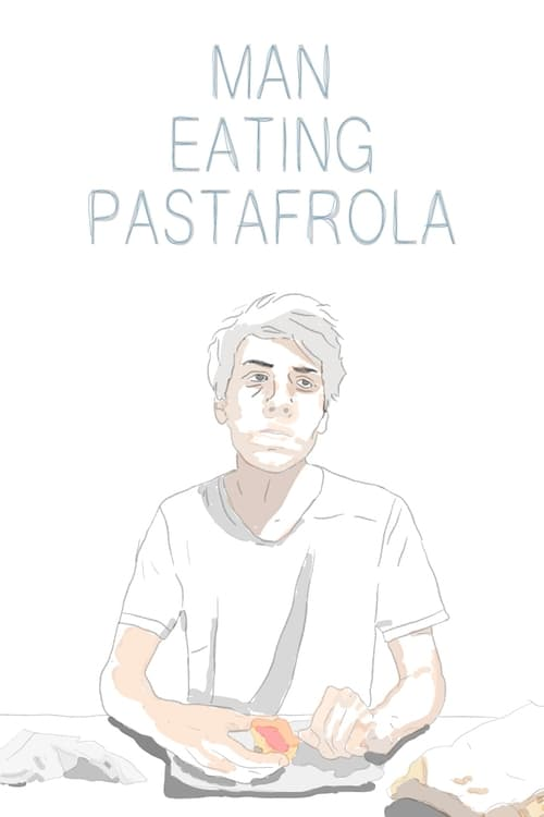 Deren Man eating pastafrola