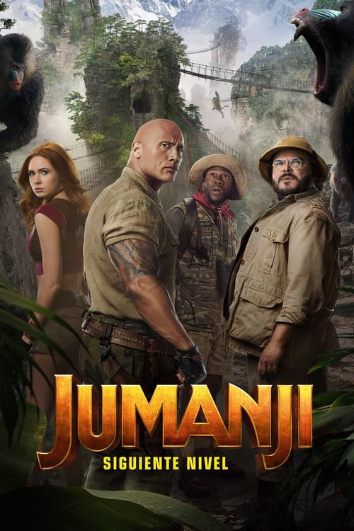 Jumanji: The Next Level pelicula completa