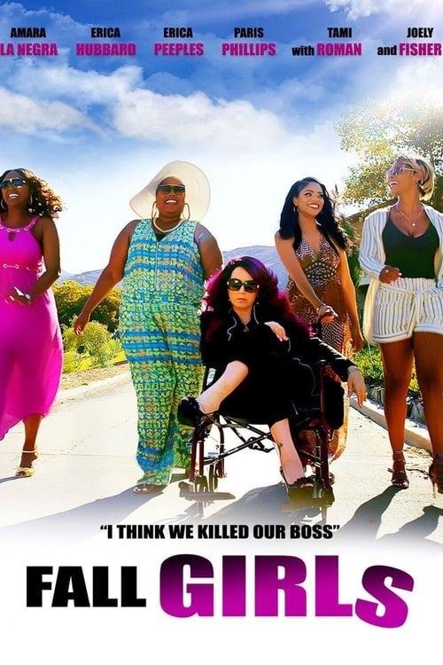 Fall Girls Poster